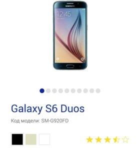 Samsung Galaxy S 6 64 гигабайт