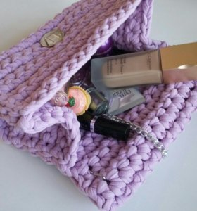 Вязание на заказ. Сумки из трикотажной пряжи