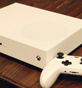 Новая игровая консоль XBOX ONE S 1TB + 28 игр