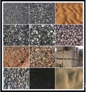 Нерудные материалы, щебень, песок