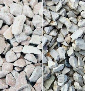 Щебенка. Песок