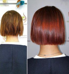 Ухаживающие процедуры для волос