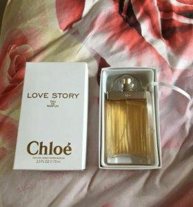 """Парфюмированная вода Chloe """"Love Story"""" 75ml"""