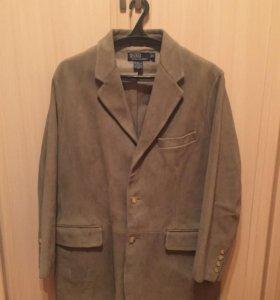 Кожаный пиджак Ralph Lauren