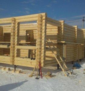 Строительство домов,бань,под ключ!