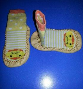 Новые тапочки-носочки 14-15см