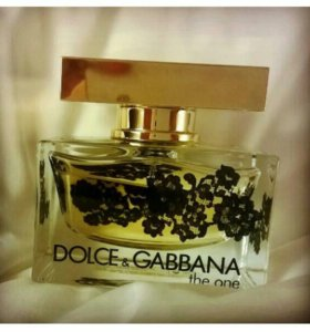 """D&G """"The One Lace Edition"""" 75ml"""