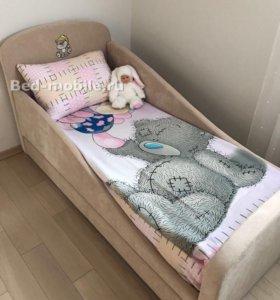 "Кроватка с мягкими бортиками ""Мяу"""