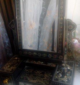 Шкатулка-зеркало
