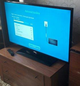 Срочно телевизор Samsung 42 дюйма LED