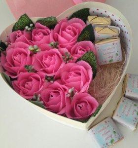 Коробочка со сладкими пожеланиями