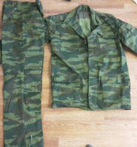 военная форма костюм х/б летний новый