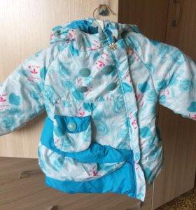 Куртка для девочки 92 см
