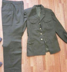 военная форма костюм повседневный