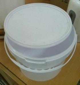 Ведра 5л пластиковые с крышкой