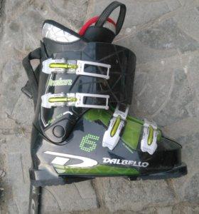 Горнолыжные ботинки ( размер 39,5)