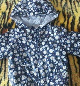 Курточка для девочки р 80