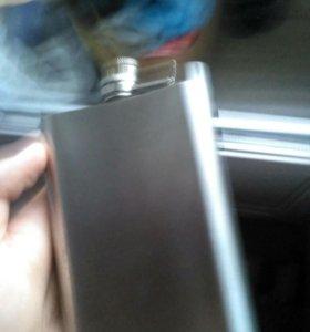 Фляжка металлическая, объем 250 мл