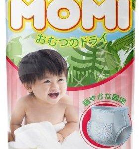 Детские подгузники трусики Momi XL(12-17кг) 38шт