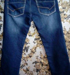 Новые утепленные джинсы
