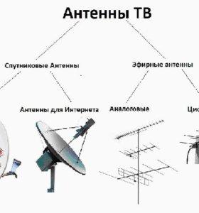 Настройка,установка антенн
