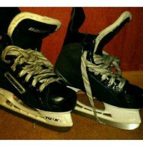 33,5 Коньки хоккейные, хоккей, детские