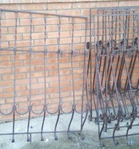 Решетки кованные на окна