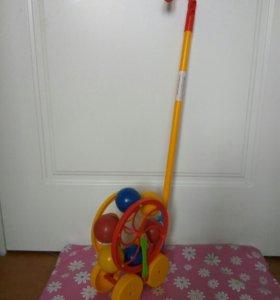 Каталочка каруселька с шариками