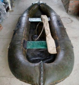 Лодка ПВХ двухместная