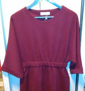 Очень красивое и практичное, теплое  платье