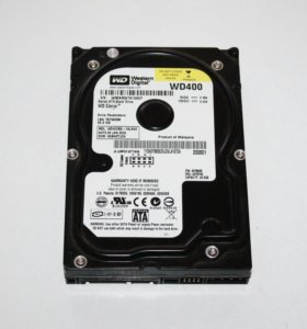 Жесткий диск SATA WD Caviar WD400BD 40GB, б/у