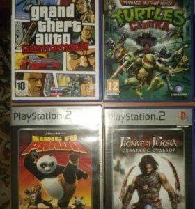 Лицензионные игры на PS2