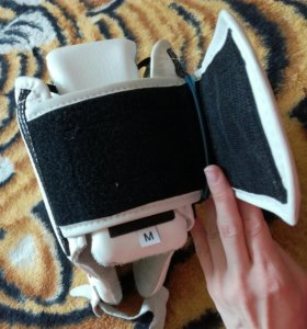 Защитный шлем на карате
