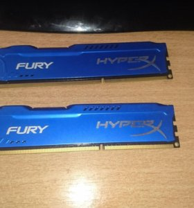 Оперативная память Kingston Hyper X Fury