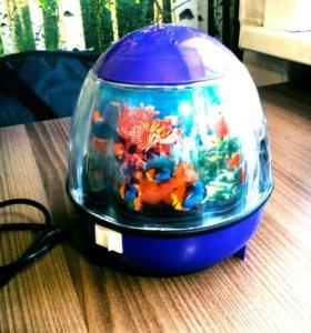 Светильник-Ночник аквариум