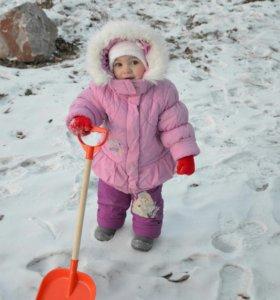 Куртка зимняя на овчине.
