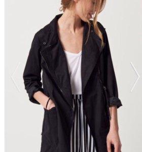 Куртка чёрная оверсайз