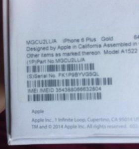 iPhone 6 Plus 64 Gold