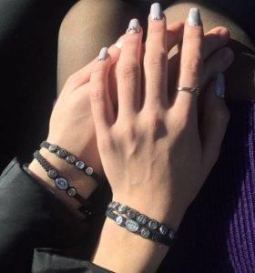 Именные плетёные браслеты