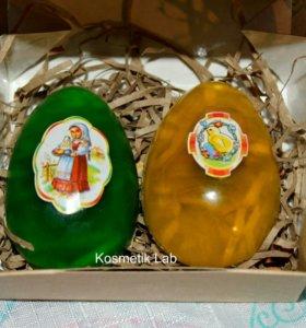Пасхальные яйца (мыло)