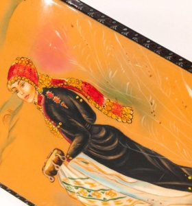 Шкатулка деревянная ,ручная роспись