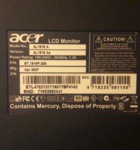 Монитор Acer AL1916 A
