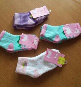 Носки от 2 -4 годиков
