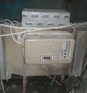 Теновые электронагреватели с вентилятором.