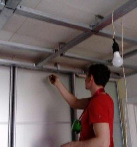 Гкл конструкции, потолок