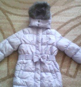 Новое пальто зимнее на 3-4года