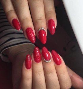 Гель-лак и наращивание ногтей