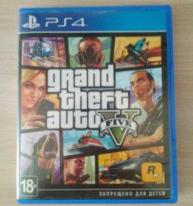 Игра для ps4 GTA V