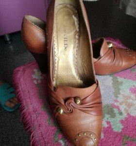 Туфли кожа р-р40