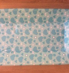 Пеленальная доска для новорождённого